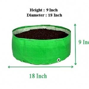 HDPE Grow Bag 18X9 Inch