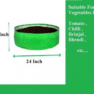 HDPE Grow Bag 24x12 Inch
