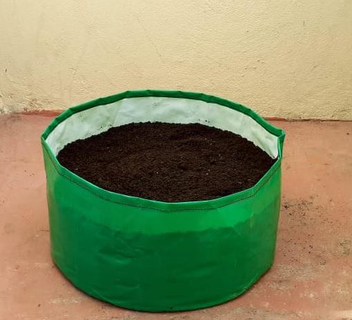 HDPE Grow Bag 8x9 Inch