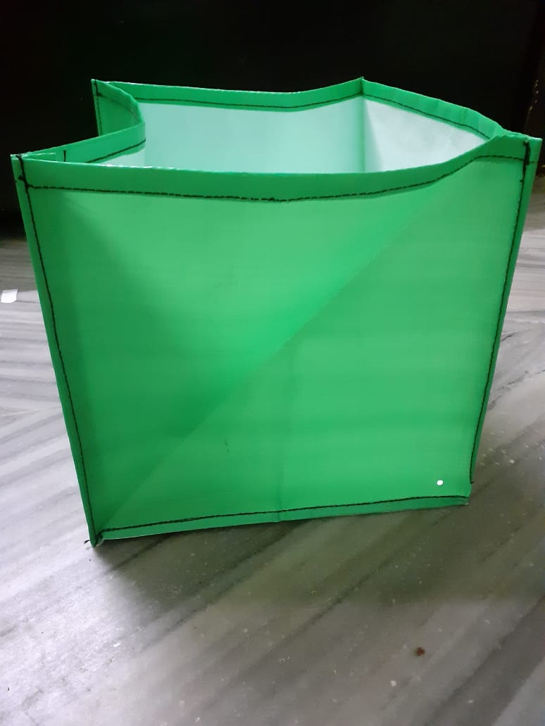 HDPE Grow Bag 12x12x12 Inch (Square)