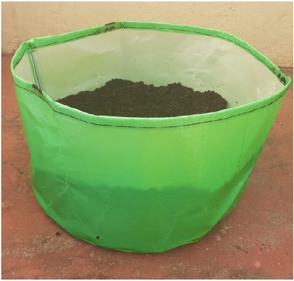 HDPE Grow Bag 15X9 Inch