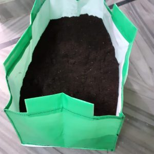 HDPE Grow Bag 24x12x12 Inch (Rectangular)
